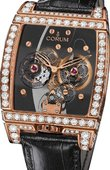 Corum Golden Bridges 382.871.85/0F01 0000 Golden Tourbillon Panoramique Grey Sapphire