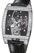 Corum Golden Bridges 382.879.69/0F01 0000 Golden Tourbillon Panoramique Grey Sapphire