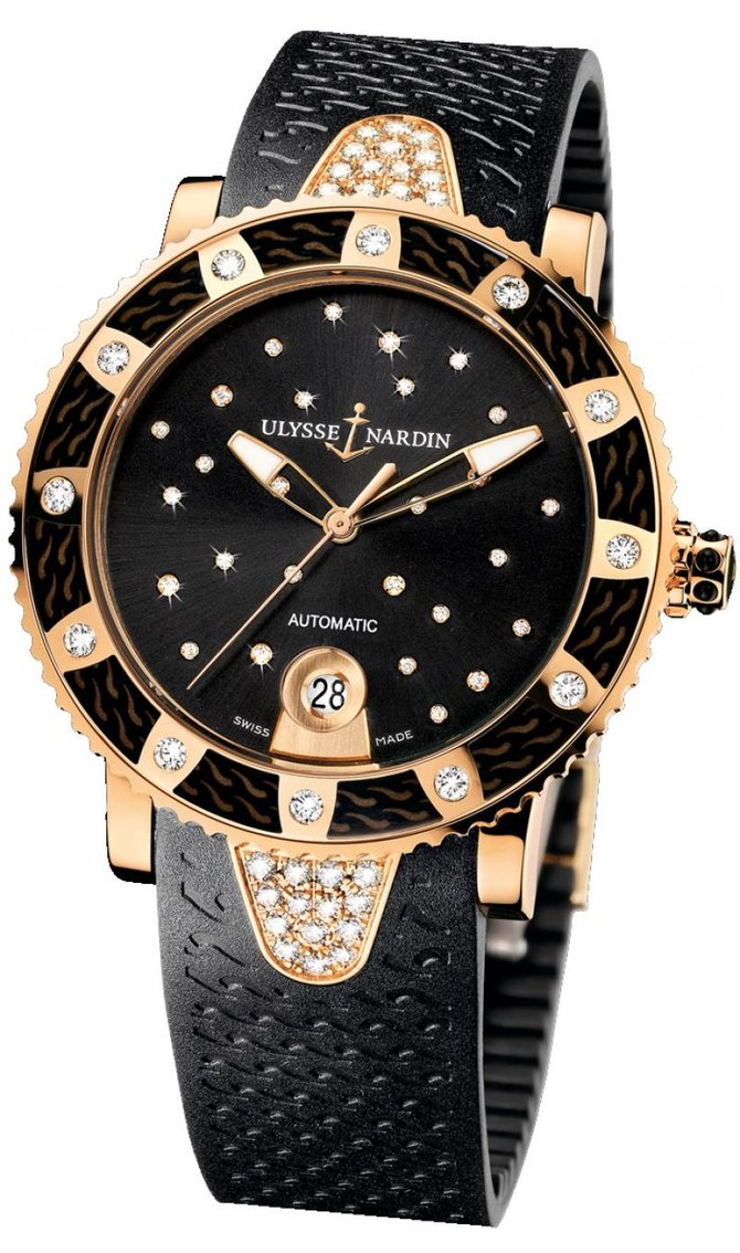8106-101E-3C/22 Ulysse Nardin Starry Night Lady Diver