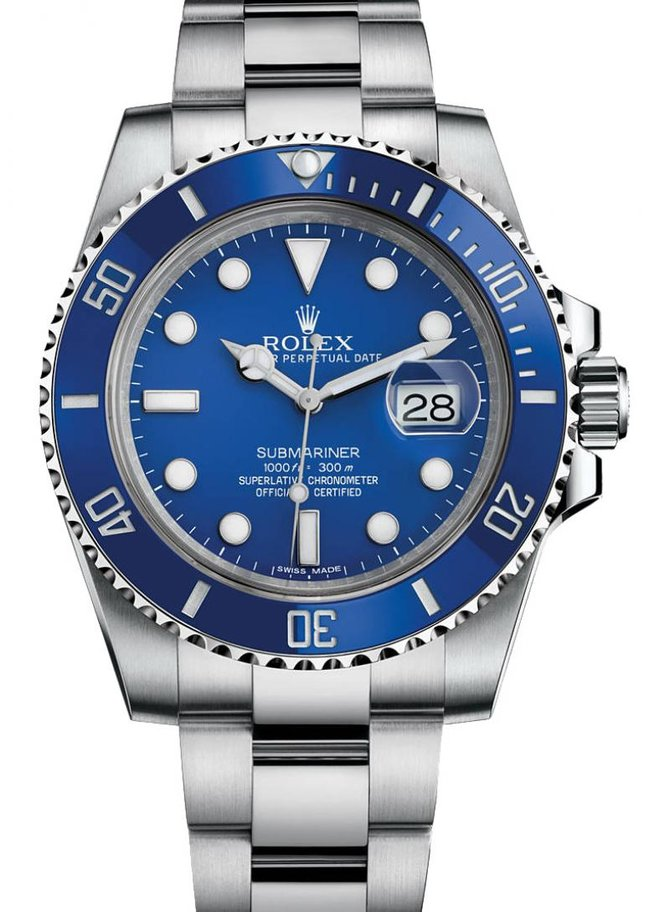 Rolex M116619LB-0001 Submariner Date White Gold