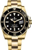 Rolex Submariner 116618LN Date Yellow Gold