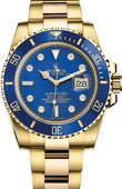 Rolex Submariner M116618LB-0002 Date Yellow Gold
