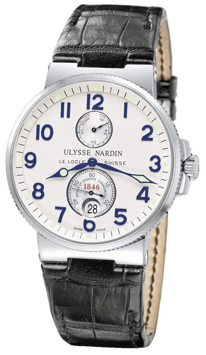 Ulysse Nardin 263-66 Maxi Marine Chronometer 41mm Steel