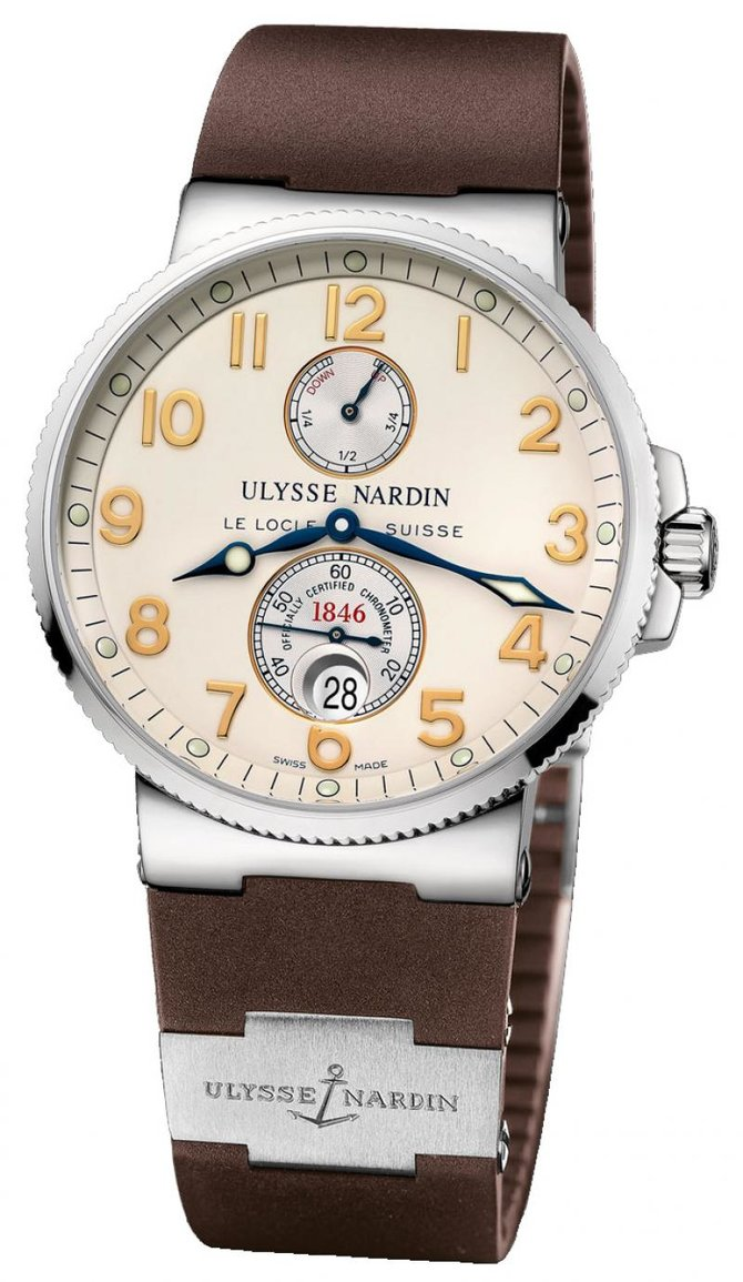 Ulysse Nardin 263-66-3/60 Maxi Marine Chronometer 41mm Steel