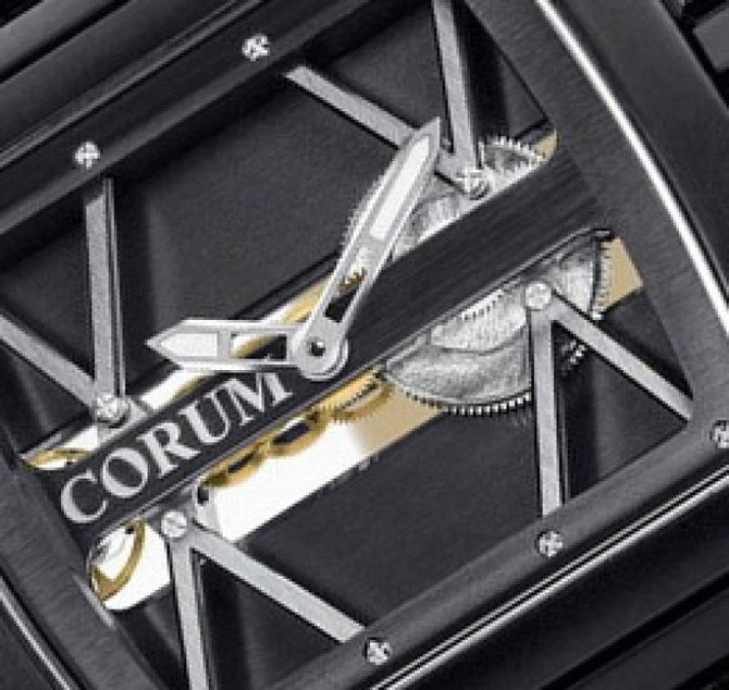 Corum 007.400.94/F371 0000 Golden Bridges Ti Bridge Limited - фото 2