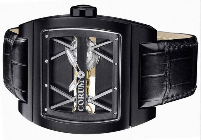 Corum 007.400.94/F371 0000 Golden Bridges Ti Bridge Limited - фото 3