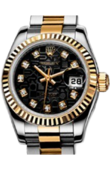 Rolex Datejust Ladies 179173 bkjdj 26mm Steel and Yellow Gold
