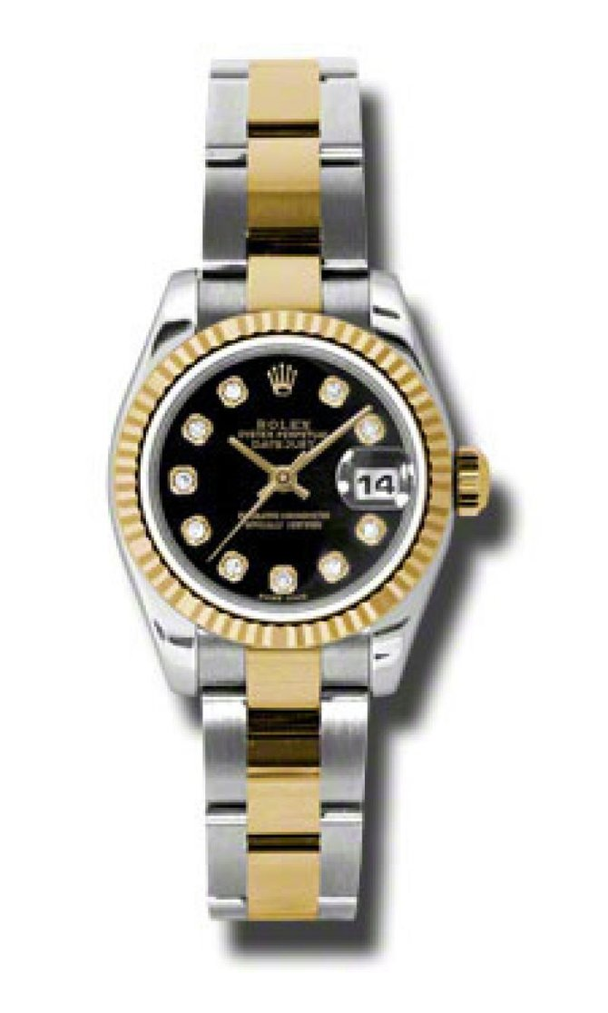 Rolex 179173 bkdo Datejust Ladies 26mm Steel and Yellow Gold - фото 1