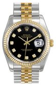Rolex Datejust Ladies 179173 bkdj 26mm Steel and Yellow Gold