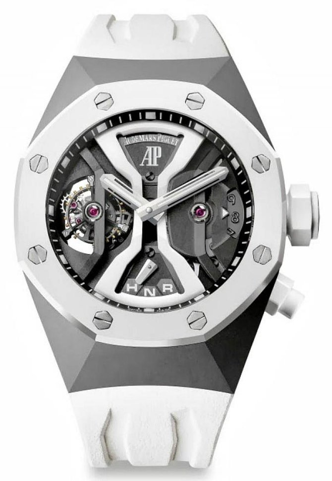 Audemars Piguet 26580IO.OO.D010CA.01 Royal Oak Concept GMT Tourbillon - фото 1