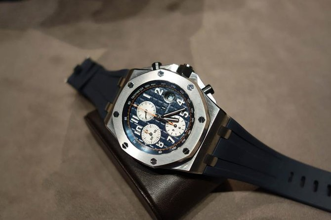 Audemars Piguet 26470ST.OO.A027CA.01 Royal Oak Offshore Chronograph 42mm - фото 3