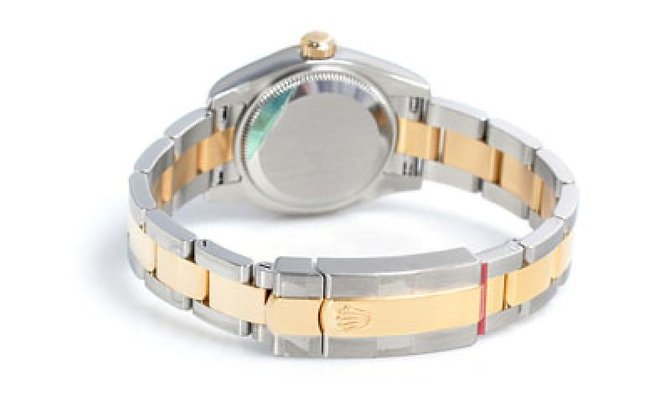 Rolex 179163 White Datejust Ladies 26mm Steel and Yellow Gold - фото 3