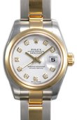 Rolex Datejust Ladies 179163 wdo 26mm Steel and Yellow Gold