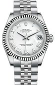 Rolex Datejust 178274 wrj Datejust 31mm Steel and White Gold