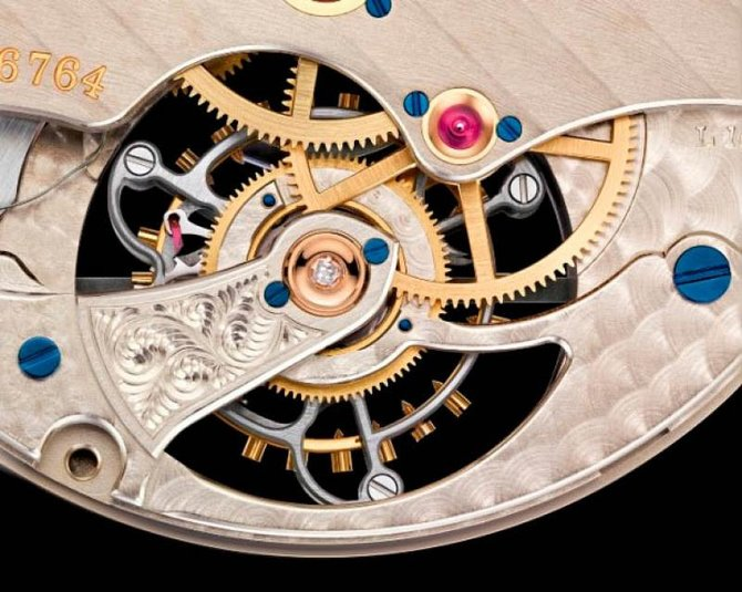 A.Lange and Sohne 730.025 1815 Tourbillon with Stop Seconds and Zero-Reset - фото 4