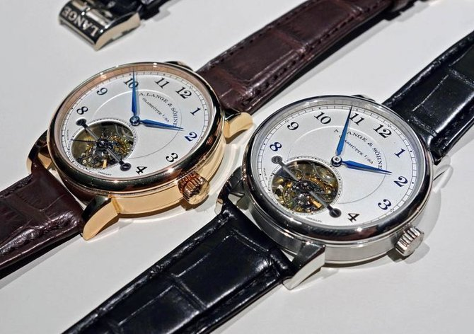 A.Lange and Sohne 730.025 1815 Tourbillon with Stop Seconds and Zero-Reset - фото 5