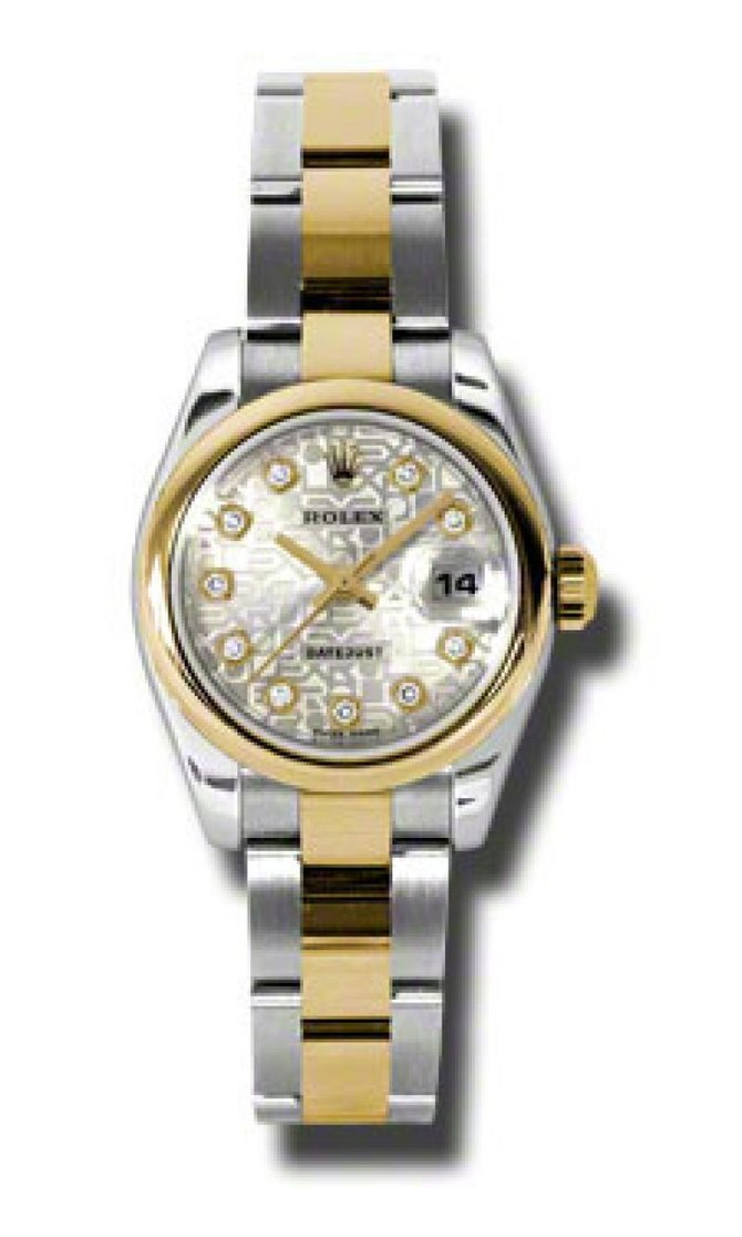 Rolex 179163 sjdo Datejust Ladies 26mm Steel and Yellow Gold - фото 1