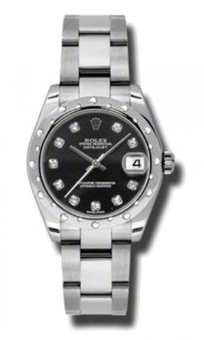 Rolex 178344 bkdo Datejust Datejust 31mm Steel and White Gold - фото 1