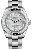 Rolex Datejust 178344 mro 31mm Steel and White Gold
