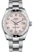Rolex Datejust 178344 pmdo 31mm Steel and White Gold