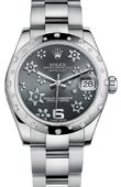 Rolex Datejust 178344 rfo 31mm Steel and White Gold