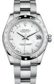 Rolex Datejust 178344 wro 31mm Steel and White Gold