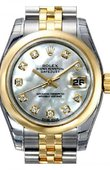 Rolex Datejust Ladies 179163 mdj 26mm Steel and Yellow Gold