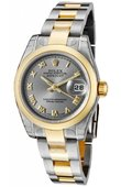 Rolex Datejust Ladies 179163 gro 26mm Steel and Yellow Gold