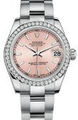 Rolex Datejust 178384 pio 31mm Steel and White Gold