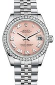 Rolex Datejust 178384 prj 31mm Steel and White Gold