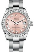 Rolex Datejust 178384 pro 31mm Steel and White Gold