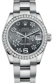 Rolex Datejust 178384 rfo 31mm Steel and White Gold