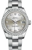 Rolex Datejust 178384 sdo 31mm Steel and White Gold