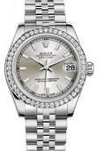 Rolex Datejust 178384 sij 31mm Steel and White Gold