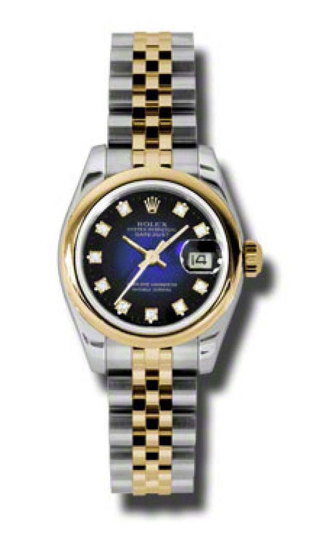 Rolex 179163 blvdj Datejust Ladies 26mm Steel and Yellow Gold - фото 1