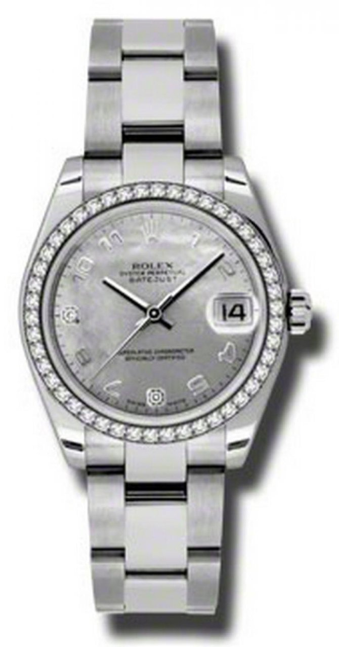 Rolex 178384 wgdmdao Datejust 31mm Steel and White Gold - фото 1