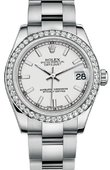 Rolex Datejust 178384 wio 31mm Steel and White Gold