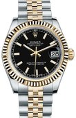 Rolex Datejust 178273 bkij 31mm Steel and Yellow Gold