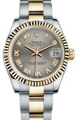 Rolex Datejust 178273 gro 31mm Steel and Yellow Gold