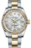 Rolex Datejust 178273 mdo 31mm Steel and Yellow Gold