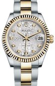 Rolex Datejust 178273 sjdo 31mm Steel and Yellow Gold