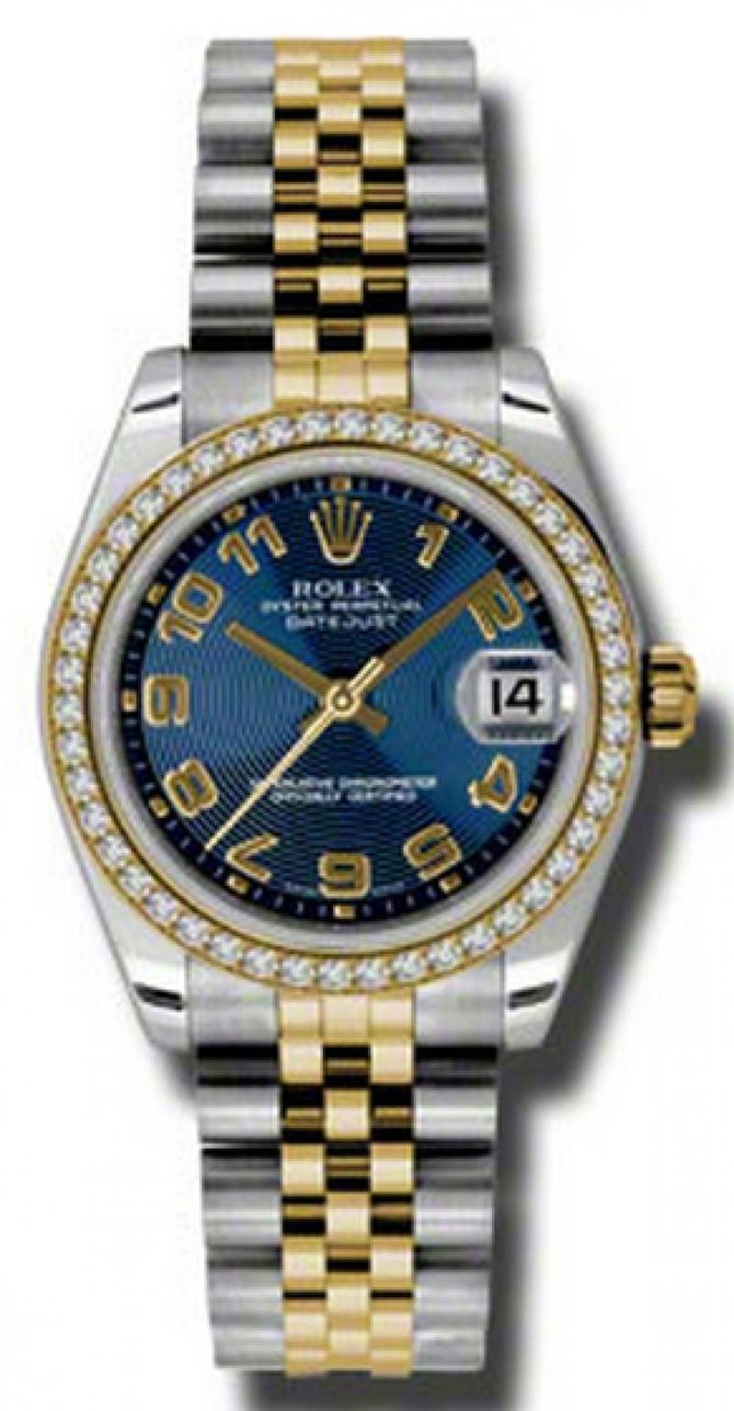 Rolex 178383 blcaj Datejust 31mm Steel and Yellow Gold - фото 1