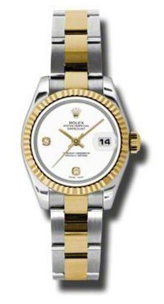 Rolex 179173 wado Datejust Ladies 26mm Steel and Yellow Gold - фото 2