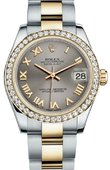 Rolex Datejust 178383 gro 31mm Steel and Yellow Gold