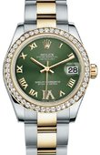 Rolex Datejust 178383 ogdro 31mm Steel and Yellow Gold