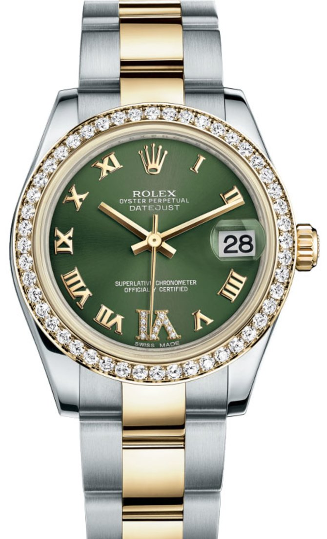 Rolex 178383 ogdro Datejust 31mm Steel and Yellow Gold