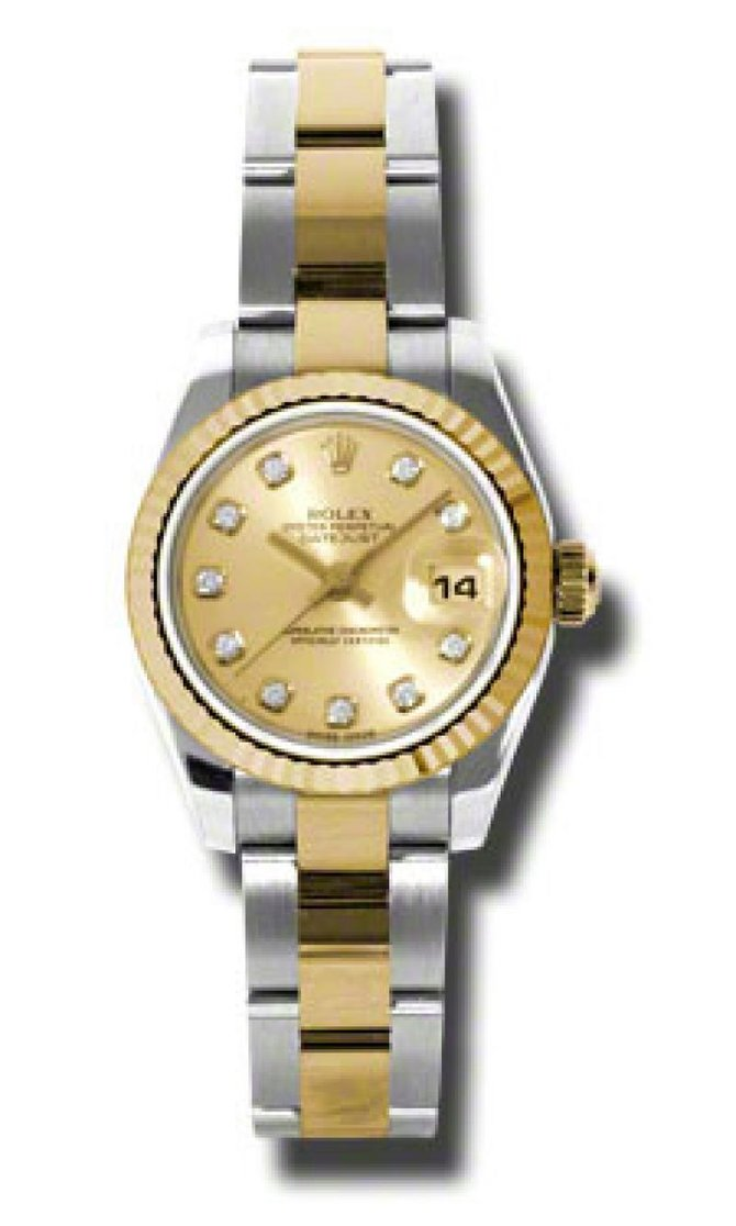 Rolex 179173 chdo Datejust Ladies 26mm Steel and Yellow Gold - фото 1