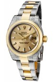 Rolex Datejust Ladies 179163 chso 26mm Steel and Yellow Gold