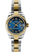 Rolex Datejust Ladies 179163 blcao 26mm Steel and Yellow Gold