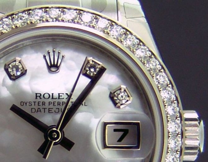 Rolex 179384 mdo Datejust Ladies 26mm Steel and White Gold - фото 5